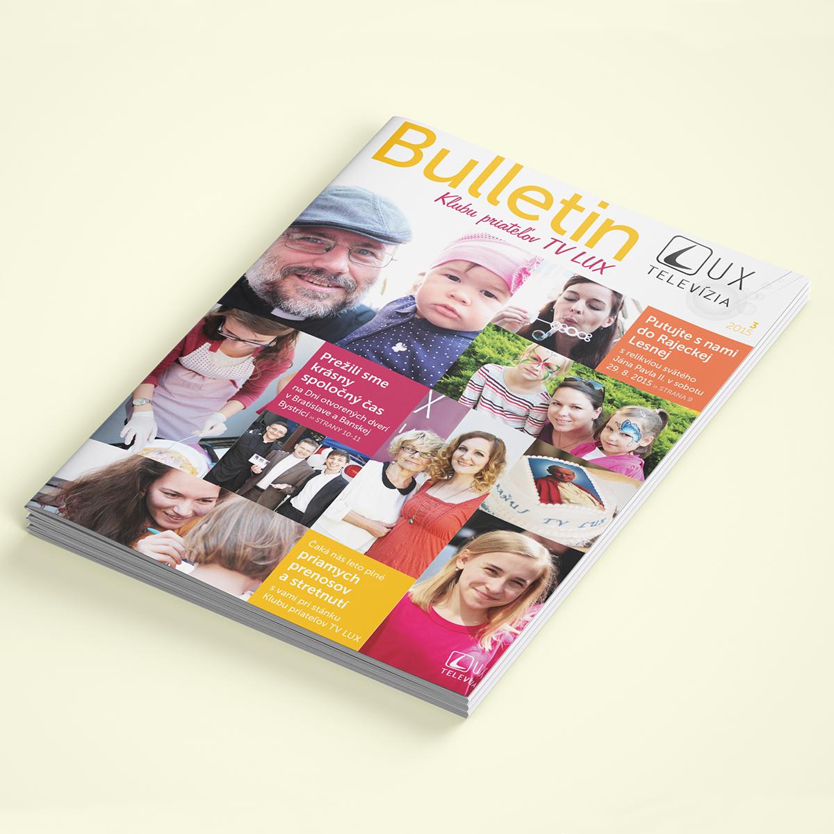 Ideas Innovations Časopisy Bulletin TV LUX